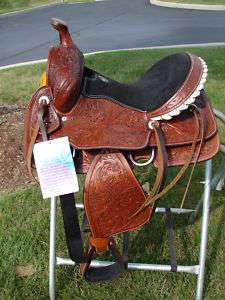 13 Double T Western Saddle Barrel Show Trail Horse