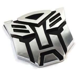5 x Large Transformers Autobots Car Emblem Badge Sticker